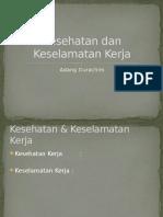 0. 1 Pengantar K3
