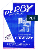 Sheets-Georges Privat - Derby (Swing Fox)