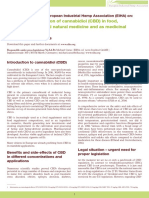 EIHA CBD Position Paper