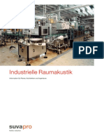 Industrielle Raumakustik