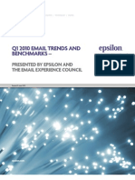 Email Trend and Benchmark Report Q1_2010 [Epsilon]