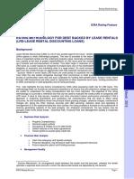LRD Rating Methodology
