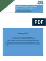 Bisphosphonates Guidelines 2015