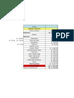 Flujo de Caja General Proyecto