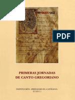 Jornadas de Canto Gregoriano 01