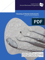 SDCEP Cleaning of Dental Instruments 2nd Edition Jan2016