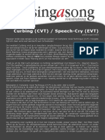 Artikel Curbing Speech Cry