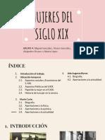 Mujeres Del Siglo Xix