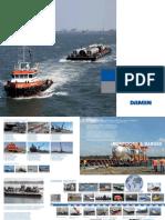 Damen Pontoons and Barges Brochure Oct 2015
