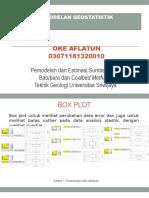 03071181320010 OKE AFLATUN Pemodelan Geostatistic
