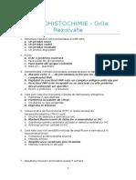 Imunohistochimie - Grile Rezolvate (an III Sem II)