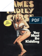 You Must Be Kidding - James Hadley Chase