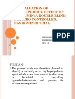 An Evaluation of Hypolipidemic Effect of Curcumin
