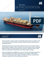 Tullow Oil Overview Presentation Sept 2016