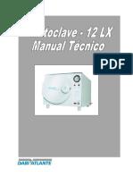 Autoclave 12 Lx Manual Técnico