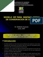 5.3. Modelo IDF