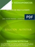 TERCERA PARTE Solucion Nutritiva Cultivos hidrop+¦nicos