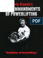 10 Commandments of Powerlifting by Ernie Frantz