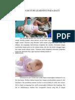 Latihan Motor Learning Pada Bayi