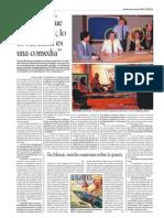 Nicolás Kasanzew - Entrevista al corresponsal en Malvinas