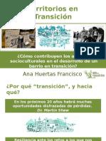 Red de Transicion Urbana y agentes socioculturales