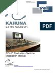 2.5ME Kahuna CF Install Manual Issue 4.3 Rev 3
