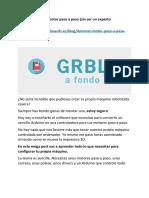 Grbl a Fondo