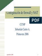 Clase 04 - Configuracion de Firewall y NAT