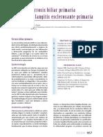 66 Cirrosis Biliar Primaria Colangitis Esclerosante Primaria