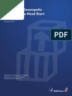 Normas de Desempeño Del Programa Head Start