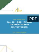Cap. 23 v 2 RDC Regime Diferenciado de Contratacoes