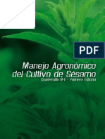 Manejo Agronómico Del Sésamo