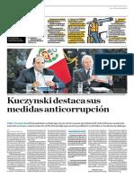 Kuczynski Destaca Sus Medidas Anticorrupción