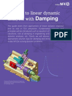 Midas NFX Linear Dynamic Analysis With Damping