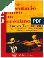 21Capa Nuevo Comentario Biblico San Jeronimo NT