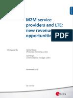 M2M ServiceProviderLTE Paper (UBX 13004668)