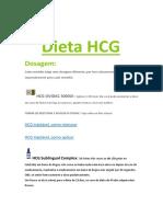 Dieta HCG e Book PDF