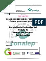 Portafolio de Manejo Del Proceso Administrativo