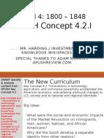 APUSH - Concept - 4.2.I - Harding