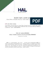 Falzon Et Al. Qualite_reglee-geree