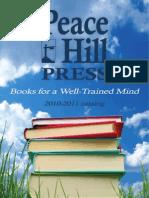 Peace Hill Press 2010 Catalog
