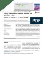 Determination of Bio-methanol as Intermediate