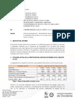 Informe Avance Plan Intervención 002