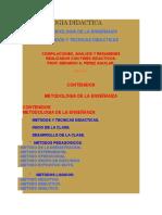 METODOLOGIA DIDACTICA