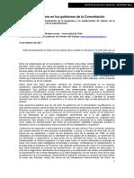 Aguiar, S. (2011) La Clase Trabajadora en Los Gobiernos de La Concertación