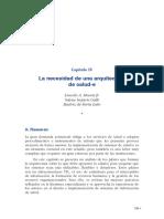X Informe SEIS - 04 - Necesidad de Una Arquitectura de Salud-e