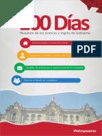 100 Días Resumen de Los Avances y Logros de Gobierno