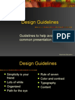 guidelines for powerpoints
