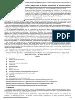 NORMA Oficial Mexicana NOM-113-STPS-200..., Especificaciones y Métodos de Prueba