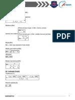 01. Noções de Estatística - Conteúdos e Exercícios